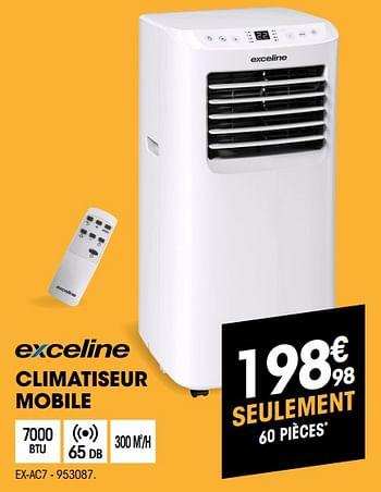 Promotion Electro Depot Exceline Climatiseur Mobile Ex Ac7 Exceline Appareils Electriques Valide Jusqua 4 Promobutler