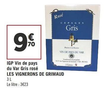 Geant Casino Grimaud