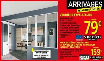 Promotion Brico Depot Verriere Type Atelier Produit Maison Brico Depot Construction Renovation Valide Jusqua 4 Promobutler
