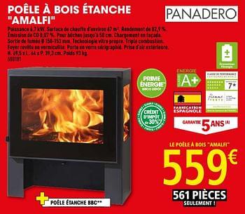Promotion Brico Depot Poele A Bois Etanche Amalfi Panadero Chauffage Et Climatisation Valide Jusqua 4 Promobutler