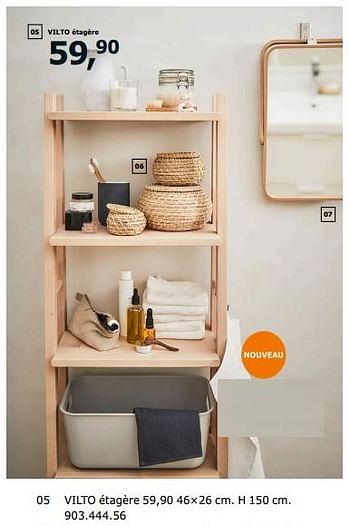 Promotion Ikea Vilto Etagere Produit Maison Ikea Meubles Valide Jusqua 4 Promobutler