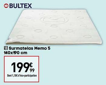 Promotion Conforama Surmatelas Memo 5 Bultex Meubles Valide Jusqua 4 Promobutler