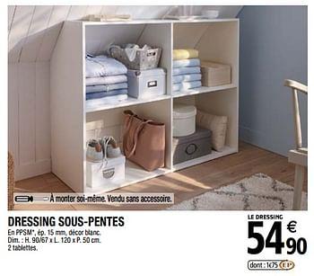 Promotion Brico Depot Dressing Sous Pentes Produit Maison Brico Depot Meubles Valide Jusqua 4 Promobutler