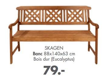 Promotion Casa Skagen Banc Produit Maison Casa Jardin Et Fleurs Valide Jusqua 4 Promobutler