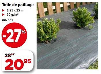 Promotion Mr Bricolage Toile De Paillage Produit Maison Mr Bricolage Jardin Et Fleurs Valide Jusqua 4 Promobutler