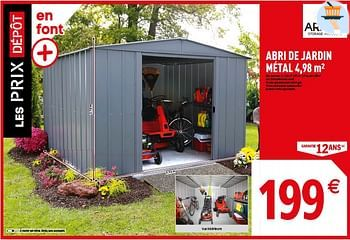 Brico Depot Promotie Abri De Jardin Metal Huismerk Brico Depot Tuin En Bloemen Geldig Tot 14 03 19 Promobutler