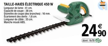 Promotion Brico Depot Taille Haies Electrique Produit Maison Brico Depot Jardin Et Fleurs Valide Jusqua 4 Promobutler