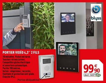 Promotion Brico Depot Blyss Portier Video 4 3 2 Fils Blyss Construction Renovation Valide Jusqua 4 Promobutler