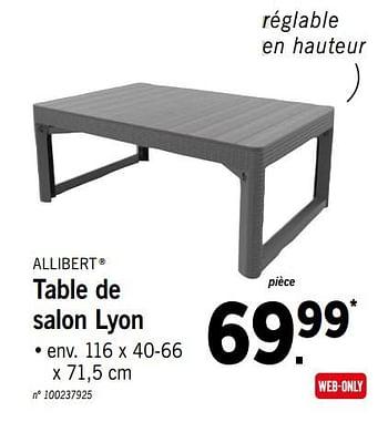 table de salon lyon lidl 5068284
