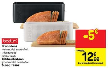 Carrefour Promotie Brooddoos Bodum Huishouden Geldig Tot 01 04 19 Promobutler