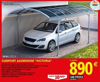 Promotion Brico Depot Carport Aluminium Victoria Produit Maison Brico Depot Jardin Et Fleurs Valide Jusqua 4 Promobutler