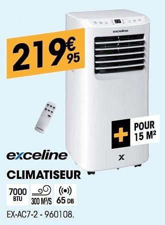 Promotion Electro Depot Exceline Climatiseur Ex Ac7 2 Exceline Appareils Electriques Valide Jusqua 4 Promobutler