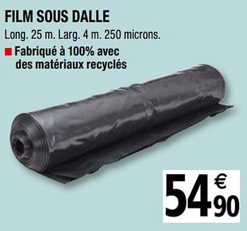 Promotion Brico Depot Film Sous Dalle Produit Maison Brico Depot Bricolage Valide Jusqua 4 Promobutler