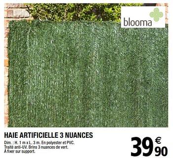 Promotion Brico Depot Haie Artificielle 3 Nuances Blooma Jardin Et Fleurs Valide Jusqua 4 Promobutler