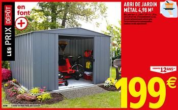 Promotion Brico Depot Abri De Jardin Metal Arrow Jardin Et Fleurs Valide Jusqua 4 Promobutler