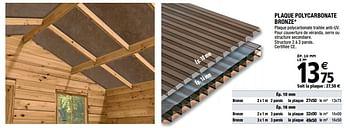 Profil De Jonction Polycarbonate En H Brico Depot