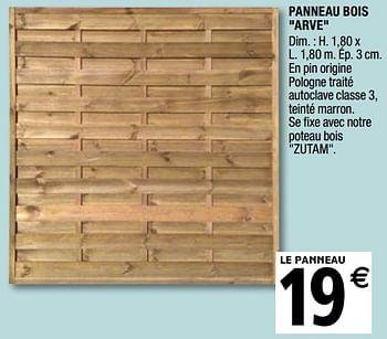 Promotion Brico Depot Panneau Bois Arve Produit Maison Brico Depot Jardin Et Fleurs Valide Jusqua 4 Promobutler