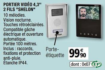 Promotion Brico Depot Blyss Portier Video 4 3 2 Fils Shelon Blyss Construction Renovation Valide Jusqua 4 Promobutler
