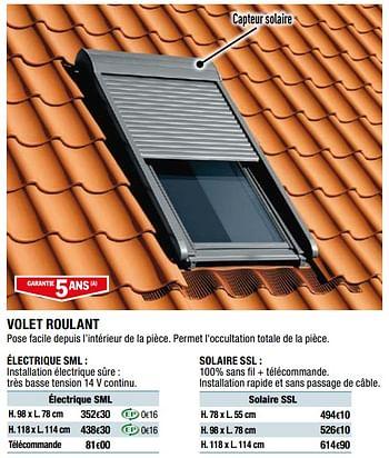 Promotion Brico Depot Volet Roulant Electrique Sml Produit Maison Brico Depot Construction Renovation Valide Jusqua 4 Promobutler