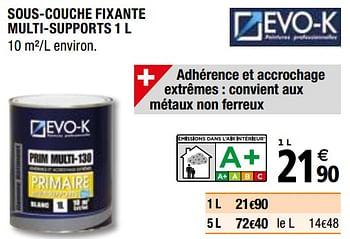 Promotion Brico Depot Sous Couche Fixante Multi Supports Evo K Bricolage Valide Jusqua 4 Promobutler