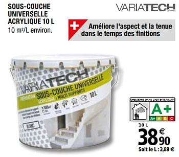 Promotion Brico Depot Sous Couche Universelle Acrylique Variatech Bricolage Valide Jusqua 4 Promobutler