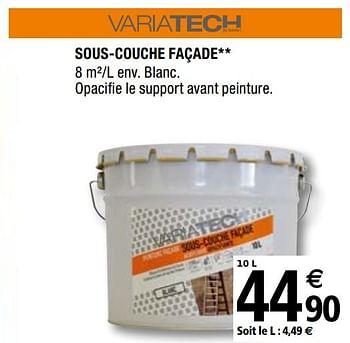 Promotion Brico Depot Sous Couche Facade Variatech Bricolage Valide Jusqua 4 Promobutler