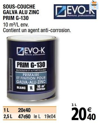 Promotion Brico Depot Sous Couche Galva Alu Zinc Prim G 130 Evo K Interieur Decoration Valide Jusqua 4 Promobutler