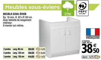 Promotion Brico Depot Meuble Sous Evier Produit Maison Brico Depot Cuisine Salle De Bain Valide Jusqua 4 Promobutler