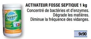 Promotion Brico Depot Activateur Fosse Septique Oxygen Construction Renovation Valide Jusqua 4 Promobutler