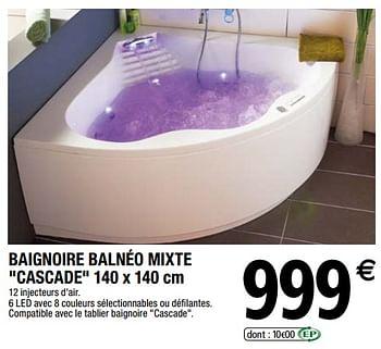 Promotion Brico Depot Baignoire Balneo Mixte Cascade Produit Maison Brico Depot Piscine Sauna Valide Jusqua 4 Promobutler