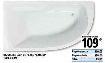 Promotion Brico Depot Baignoire Gain De Place Bandol Produit Maison Brico Depot Cuisine Salle De Bain Valide Jusqua 4 Promobutler