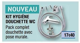 Promotion Brico Depot Kit Hygiene Douchette Wc Produit Maison Brico Depot Cuisine Salle De Bain Valide Jusqua 4 Promobutler