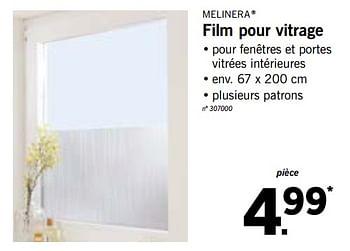 Promotion Lidl Film Pour Vitrage Melinera Interieur Decoration Valide Jusqua 4 Promobutler