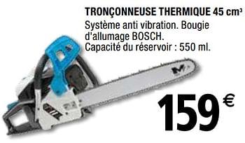 Promotion Brico Depot Mac Allister Tronconneuse Thermique 45 Cm3 Mac Allister Jardin Et Fleurs Valide Jusqua 4 Promobutler