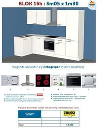 Complete keuken kader-Huismerk - Zelfbouwmarkt