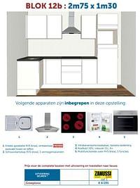 Complete keuken greeploos-Huismerk - Zelfbouwmarkt