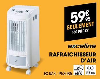 Promotion Electro Depot Exceline Rafraichisseur D Air Ex Ra3 Exceline Appareils Electriques Valide Jusqua 4 Promobutler