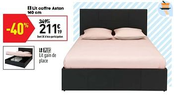 Promotion Conforama Lit Coffre Aston Produit Maison Conforama Meubles Valide Jusqua 4 Promobutler