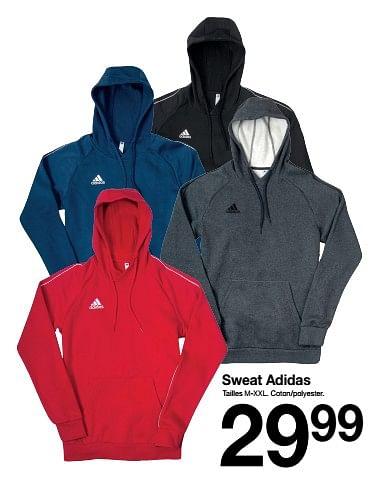 promotion Zeeman: Sweat adidas - Adidas (
