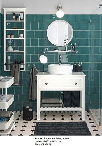 Promotion Ikea Hemnes Etagere Murale Produit Maison Ikea Cuisine Salle De Bain Valide Jusqua 4 Promobutler