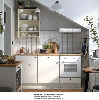Promotion Ikea Tornviken Etagere Murale Produit Maison Ikea Cuisine Salle De Bain Valide Jusqua 4 Promobutler