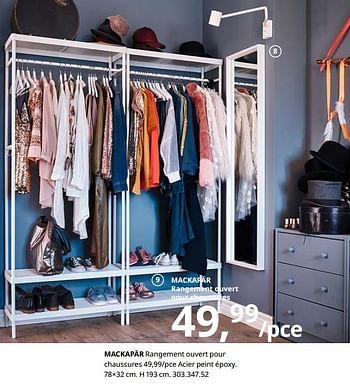 Promotion Ikea Mackapar Rangement Ouvert Pour Chaussures Produit Maison Ikea Meubles Valide Jusqua 4 Promobutler