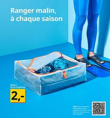 Promotion Ikea Parkla Sac De Rangement Produit Maison Ikea Menage Valide Jusqua 4 Promobutler