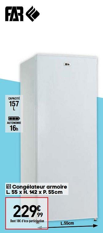 Promotion Conforama Congelateur Armoire Far K4269w Far Appareils Electriques Valide Jusqua 4 Promobutler