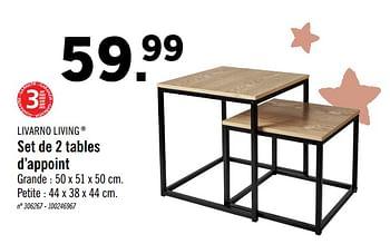 set de 2 tables dappoint lidl 6285819