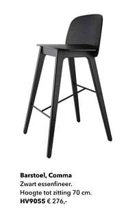 Barstoel, comma-Huismerk - Kvik
