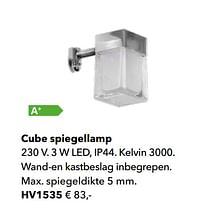 Cube spiegellamp-Huismerk - Kvik