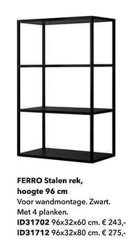 Ferro stalen rek-Huismerk - Kvik