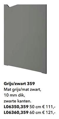 Grijs-zwart 359-Huismerk - Kvik