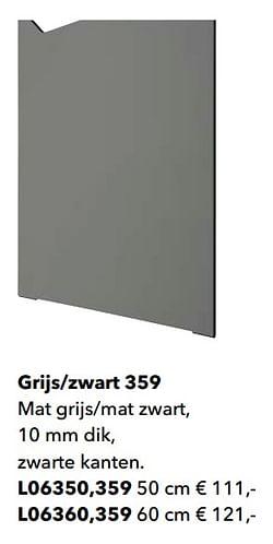 Grijs-zwart 359